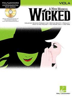 HAL LEONARD Schwartz, Stephen: Wicked (viola & CD)