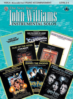 Alfred Music Williams, John: The Very Best Instrumental Solos (viola, CD, Piano)