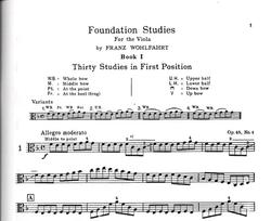 Carl Fischer Wohlfahrt (Pine): Foundation Studies for the Viola, Bk.1 (viola)(DVD) Carl Fischer