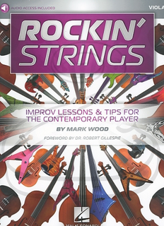 HAL LEONARD Wood: Rockin' Strings (viola)(audio access) Hal Leonard