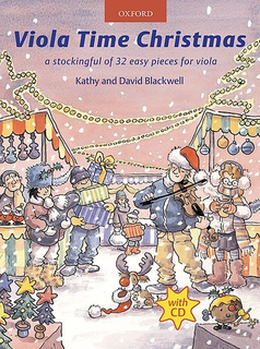 Oxford University Press Blackwell, K.& D.: Viola Time Christmas (viola and CD)