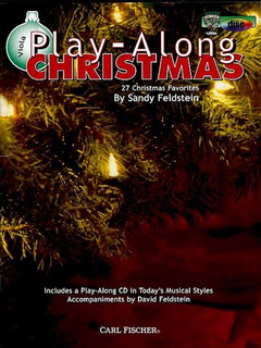 Carl Fischer Feldstein, S.: Play-Along Christmas - 27 Christmas Favorites (viola)(CD)
