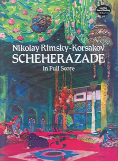 Alfred Music Rimsky-Korsakov: (score) Scherazade (full orchestra) Dover Publications