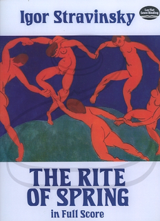 Dover Publications Stravinsky: (Dover score) The Rite of Spring (full orchestra) Dover Publications