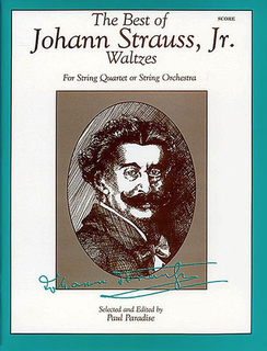 Alfred Music Strauss, J.Jr. (Paradise): (Score) The Best of Johann Strauss, Jr. Waltzes (string orchestra)