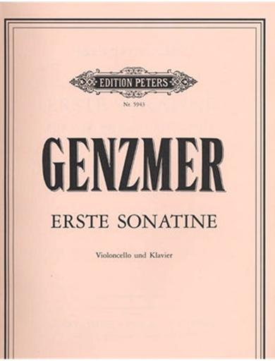 Genzmer, Harald: Cello Sonatina (cello & piano)