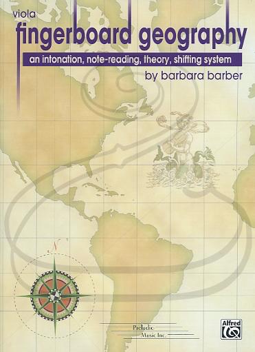 Preludio Music Inc. Barber, B.: Fingerboard Geography, Vol.1 (viola) Preludio Music Inc.