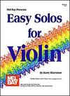 Bluestone, Harry: Easy Solos for Violin (violin & piano)