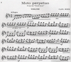 HAL LEONARD Bohm, Carl: Moto Perpetuo from the Third Suite (violin & piano) Out of print