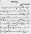 HAL LEONARD Bolcom, William: First Sonata (violin & piano)