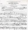 HAL LEONARD Bolcom, William: Second Sonata (violin & piano)