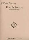 HAL LEONARD Bolcom, William: Fourth Sonata (violin & piano)
