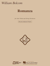 HAL LEONARD Bolcom, W.: Romanza (violin & piano)