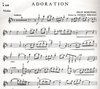 Carl Fischer Borowski, F. (Perlman): Adoration (violin, and piano)