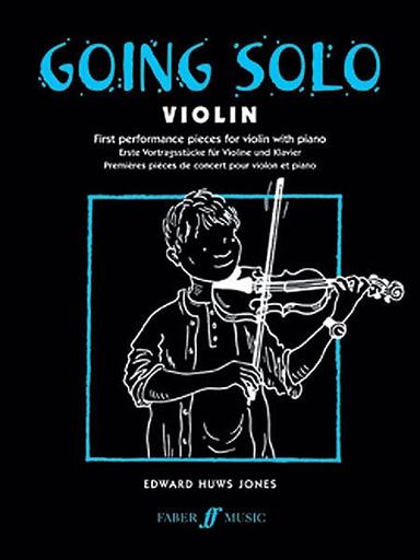Jones, Edward H.: Going Solo (violin & piano)