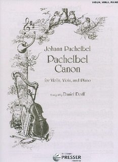 Carl Fischer Pachelbel, Johann (Dorff): Pachelbel Canon (violin, viola, and piano)