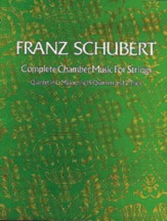Dover Publications Schubert, F: (Dover Score) Complete Chamber Music for Strings (mixed ensemble)