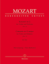 Barenreiter Mozart, W.A. (Mahling): (Score) Concerto in G Major for Violin and Orchestra, No.3, KV 216 urtext (violin, and orchestra)