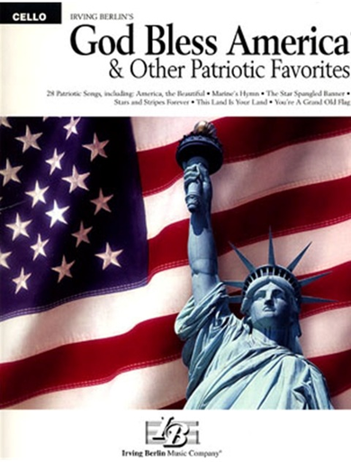 HAL LEONARD Berlin, Irving: God Bless America and Other Patriotic Favorites (cello)