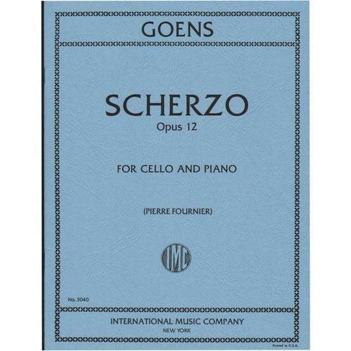 International Music Company Goens, Daniel van: Scherzo Op.12 (cello & piano)