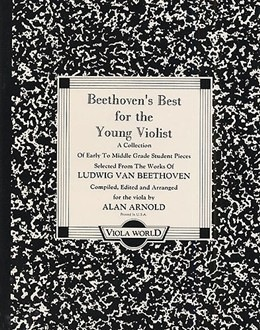 Beethoven, L.van (Arnold): Beethoven's Best for the Young Violist (viola & piano)