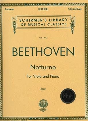 HAL LEONARD Beethoven, Ludwig: Notturno Op.42 (viola & piano)
