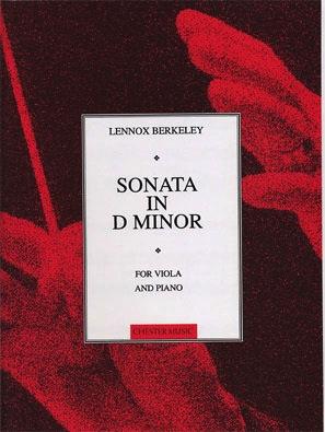 Berkeley, Lennox.: Sonata Op.22 in D minor (viola & piano)