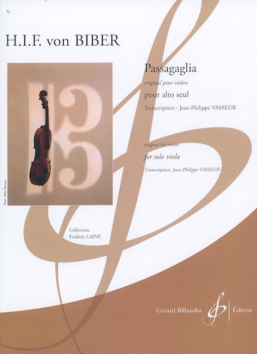 Carl Fischer Biber (Vasseur): Passagaglia (viola)
