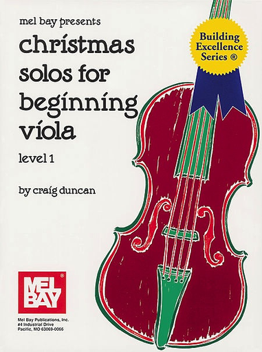 Duncan: Christmas Solos for Beginning Viola (viola/piano or 2 violas/piano)