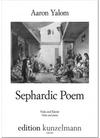 Edition Kunzelmann Yalom, A.: Sephardic Poem (viola, and piano)