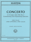 International Music Company Haydn (Morganstern): Concerto in D Major, Hob.VIIb, No.2 (cello, w/ optional 2nd cello)