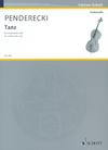 HAL LEONARD Penderecki, K.: Tanz (cello)