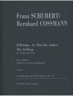 Schubert, Franz (Cossmann) : ''Der Erlkoenig'' transcribed for cello & piano
