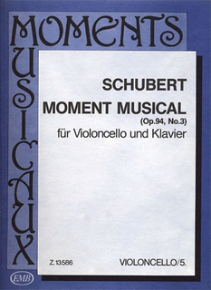 HAL LEONARD Schubert, Franz: Moment Musical Op.94 No.3 (cello & piano)