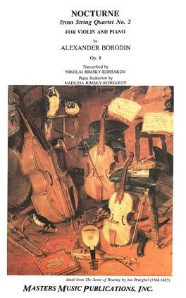 LudwigMasters Borodin, Alexander: Nocturne for Violin and Piano