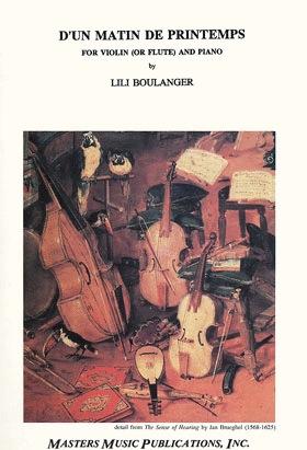 LudwigMasters Boulanger, Lili: Matin de Printemps (violin or flute & piano)