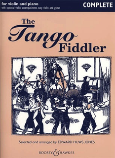 HAL LEONARD Jones: The Tango Fiddler -Complete (2 violins, piano, & guitar)
