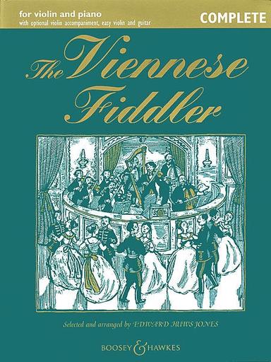 HAL LEONARD Jones, E. H.: Viennese Fiddler-Complete (2 violins, chords, and piano)