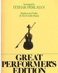 HAL LEONARD Joplin, Scot (Perlman): Ragtime for Violin (violin & piano)