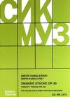 HAL LEONARD Kabalevsky, Dmitri: 20 Pieces, op. 80 (violin & piano) Special Import