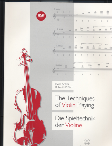 Barenreiter Arditti & Platz: The Techniques of Violin Playing (violin)(DVD) Barenreiter