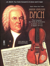 HAL LEONARD Bach, J.S.: Two Concerti - Concerto Nos.1 & 2, BWV1041 & 1042 (violin & piano)(CD) Music Minus One