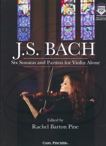 Carl Fischer Bach, J.S. (Pine): 6 Sonatas & Partitas for Violin Alone - URTEXT (violin)(online access) Carl Fischer