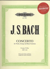 Bach, J.S.: Concerto in E major (violin, Piano, CD)