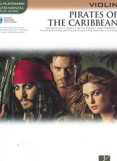 HAL LEONARD Badelt: Pirates of the Caribbean (violin & CD)