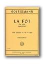 International Music Company Goltermann, Georg: La Foi ''The Faith'' Op.95#1 (cello & piano)
