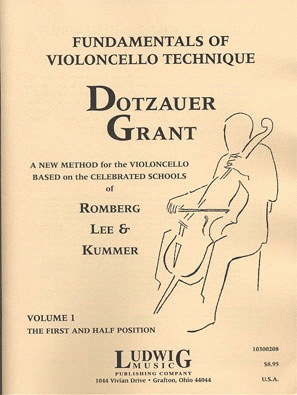 LudwigMasters Grant, Francis: Fundamentals of Violoncello Technique Vol.1-first and half positions (cello) Ludwig Masters