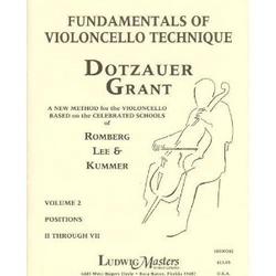 LudwigMasters Grant, Francis: Fundamentals of Violoncello Technique Vol.2 (cello)