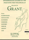 LudwigMasters Grant, Francis: Intermediate Etudes in the First Position for Violoncello (cello) Ludwig Masters