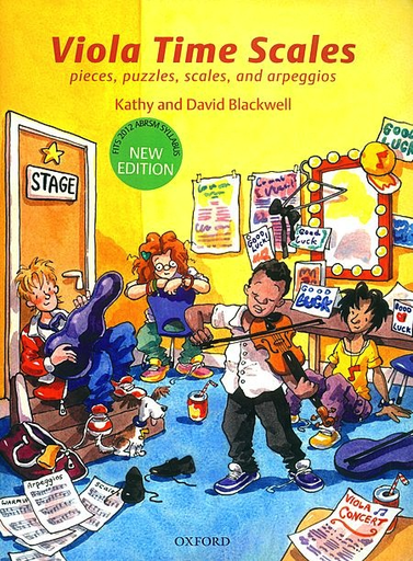 Blackwell, Kathy & David: Viola Time Scales
